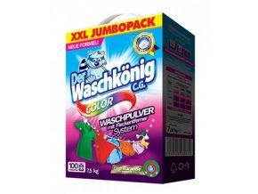 Prací prášky z Německa Waschkönig Color XXL 100 pracích dávek, 7,5 kg | Malechas