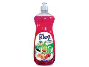 Klee, prostředek na mytí nádobí Červený grapefruit + granátové jablko, 1 litr