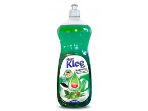 Klee, prostředek na mytí nádobí s vůní máty a aloe vera, 1 litr