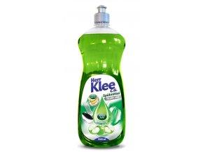 Klee, prostředek na mytí nádobí Zelené jablko, 1 litr