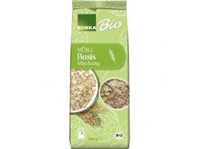 Potraviny z Německa EDEKA Bio Müsli základní směs 500 g