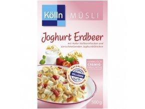 Kölln Müsli, jogurt a jahoda, 500 g