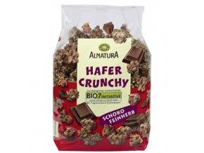 Německé potraviny Alnatura Bio ovesné müsli s hořkou čokoládou, 375 g