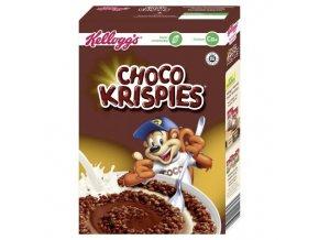 Kelloggs křupavé vločky s čokoládou Choco Krispies
