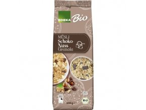 Potraviny z Německa EDEKA Bio Müsli Schoko-Nuss-Granola