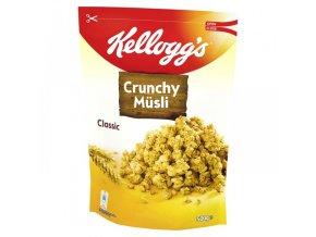 Potraviny z Německa Kelloggs Crunchy Müsli Classic křupavé, 500 g