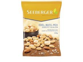 Seeberger, jemně slaná směs kešu ořechů arašídů a mandlí, 150 g