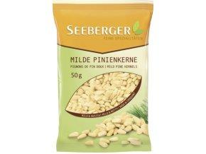 Seeberger, piniové oříšky, 50 g