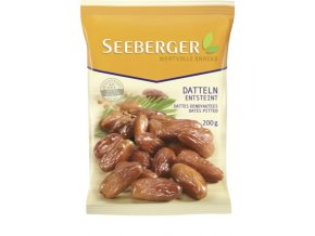 Seeberger, sušené datle z Německa, 200 g