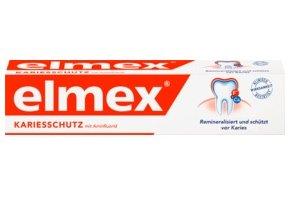 Elmex, pasta na zuby proti kazu, 75 ml