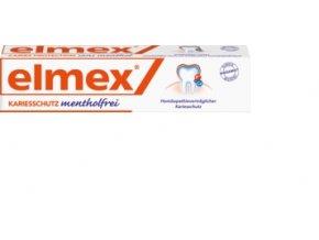 Elmex zubní bez mentholu, 75 ml