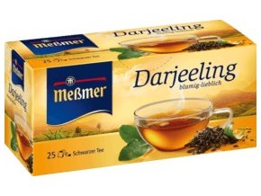 Messmer černý čaj Darjeeling, 25 x 1,75g, 43,75 g