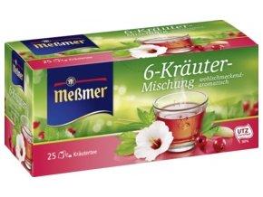 Messmer bylinkový čaj ze 6 bylin 25 x 2,00 g, 50 g