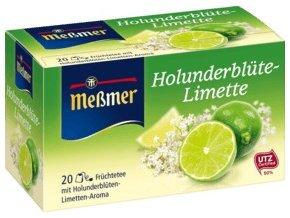 Meßmer čaj z květu bezu a limetky 20 x 2,50g, 50 g