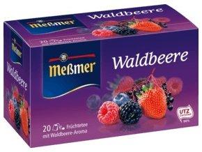 Meßmer ovocný čaj lesní ovoce 20 x 2,75g, 55 g