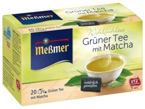 Meßmer zelený čaj s Matcha 20 x 1,50g, 30 g