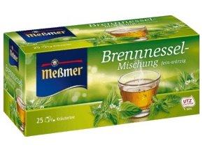 Messmer Kopřivový čaj z Německa, 25 x 2,00 g, 50 g