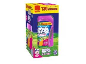 Weisser Riese Color německý prací gel  130 pracích dávek