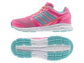 Dětské boty adidas  hyperFast K B44125 růžové