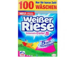 Weisser Riese, prací prášek Color, XXL 100 pracích dávek | Malechas