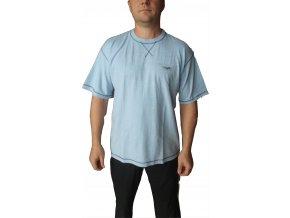 Alpine Pro Pánské tričko modré CEDAR