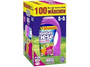 Weisser Riese Color německý prací gel, 100 pracích dávek