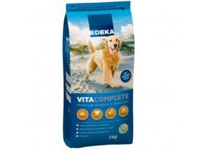 EDEKA Vitacomplete psí granule 3kg