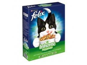 Felix Inhome Sensations suché granule pro kočky 1kg