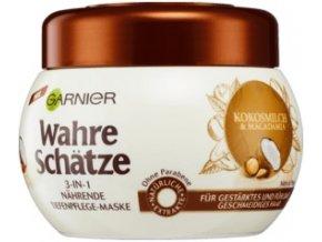 Wahre Schätze Garnier Kúra na vlasy kokosové mléko 300 ml