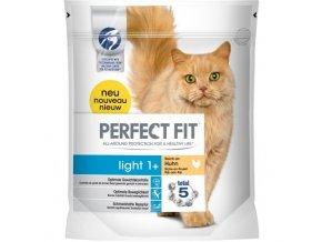 Perfect Fit light 1+ suché granule s kuřecím masem pro kočky 750g