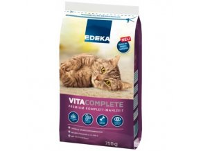 EDEKA Vitacomplete Premium granule pro kočky 750 g