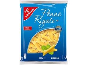 Německé potraviny G&G Penne Rigate těstoviny, 500g