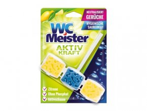 WC Meister závěska do WC s vůní citronu 45 g