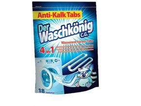 WaschKönig tablety na čištění pračky 18 ks