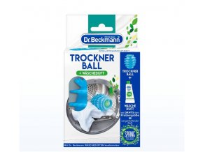 DR. BECKMANN míček do sušičky s dávkovačem + ZDARMA vůně do sušičky jarní svěžest 50 ml