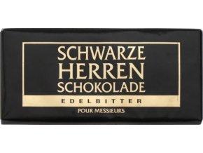 Schwarze Herren Hořká čokoláda 60 % kakaa, 100g
