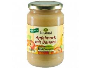 Alnatura Bio jablečné pyré s banánem 360g