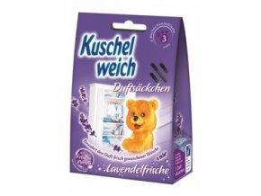 Kuschelweich vonné sáčky s vůní levandule 3 ks