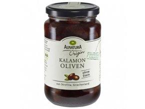 Alnatura Kalamon tmavé olivy bez pecky 350g