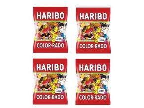 4x Haribo bonbony Color Rado 360g