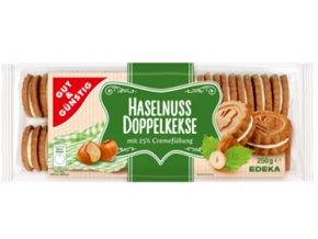 G&G Oříškové sušenky s vanilkovým krémem 250g