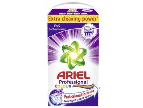 Ariel Professional Color prací prášek na barevné prádlo 140 PD