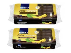 EDEKA Banánové želé v hořké čokoládě, 250g | Malechas
