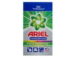 Ariel Professional Color prací prášek na barevné prádlo 150 PD, 9,75 kg