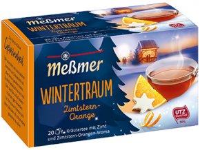 Messmer čaj Rooibos skořice a pomeranč, 20x2g