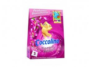 Coccolino Vonné sáčky do skříně 3ks - růžové