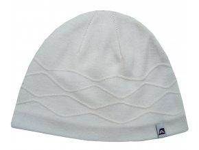 Alpine Pro dámská zimní čepice v bílé barvě