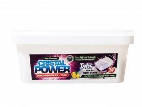 Cristal Power Tabs 100ks - tablety do myčky