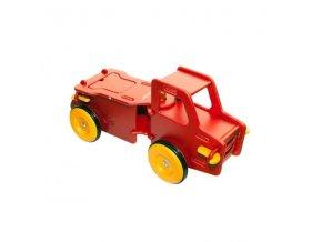 Dětské auto červené