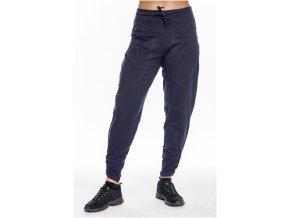 Draps Modré dámské kalhoty s hlubokým sedem 355